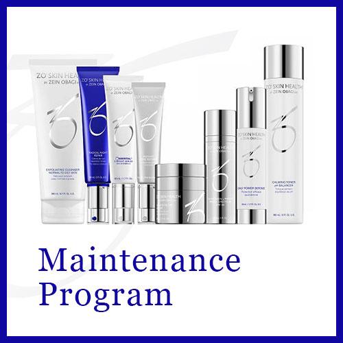 メンテナンス プログラム